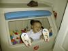 Matthew in his ToyBox